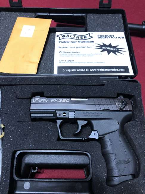 Brand new in box Walther PK380 unfired for sale or trade ...