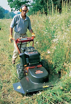Has Anyone Used A Dr Field And Brush Mower If So Do You Recommend It Also The Walk Behind Self Propelled Unit Or Pull
